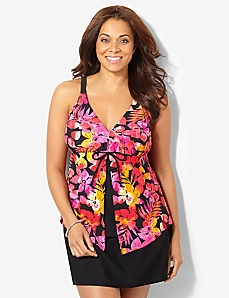 Tropical Fiesta Swim Tank by CATHERINES
