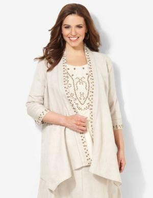 Cozy Linen Jacket