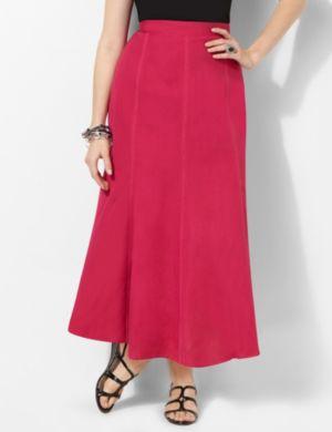 Bright Linen Skirt
