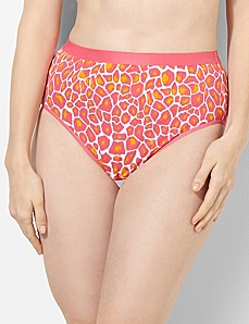 Jungle Mix Cotton Hi-Cut Brief