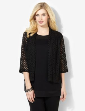AnyWear Lace Romance Cardigan