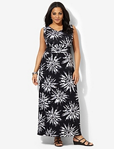 Tie-Dye Fields Maxi by CATHERINES