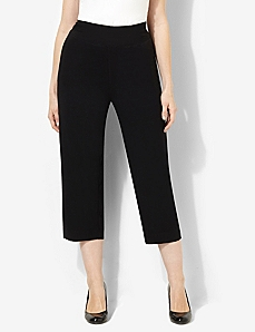 AnyWear Cozy Crop Pant by CATHERINES