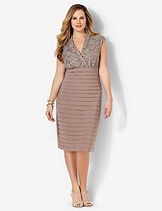 Shutter Lace Dress