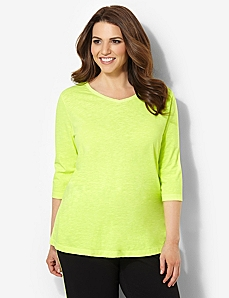 Neon Tee by CATHERINES