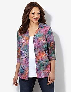 Summer Palette Shirt by CATHERINES