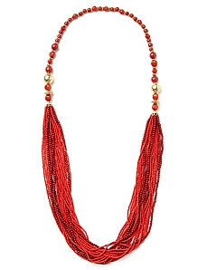 Sunset Bead Necklace
