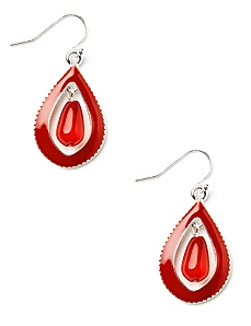 Splash Teardrop Earrings
