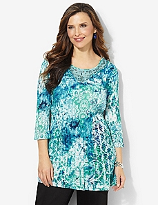 Jasmine Fields Tunic