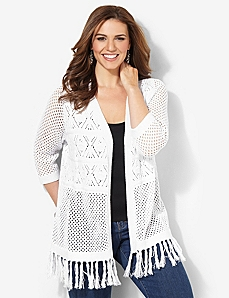 Pointelle Light Duster