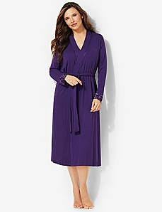 Luxe Lounge Robe by CATHERINES