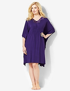 Luxe Lounge Sleep Caftan by CATHERINES
