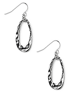 Open Oval Earrings