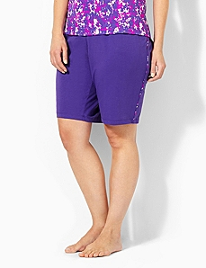 Pretty In Purple Sleep Short by CATHERINES