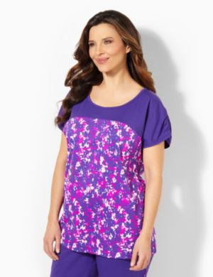 Pretty In Purple Sleep Tee