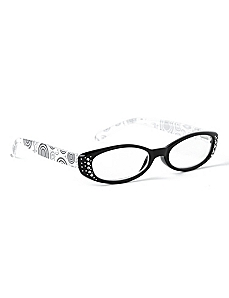 Medallion Dot Reading Glasses
