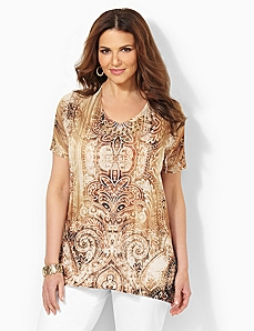 Sands & Scrolls Top