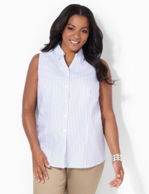 Yarndye Non-Iron Sleeveless Shirt