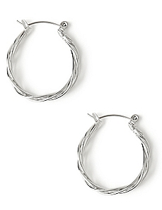 Little Twist Hoop Earrings