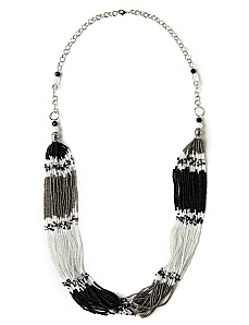 Smoky Statement Necklace