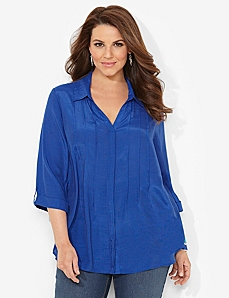 Bright Horizons Blouse by CATHERINES