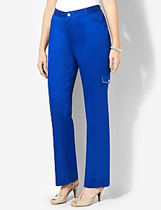 Sateen Stud Pant by CATHERINES