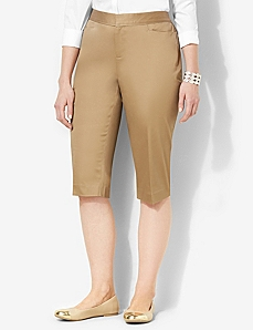 Secret Slimmer® Sateen Capri