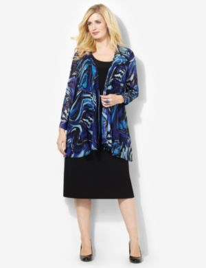 Paintswirl Jacket Dress