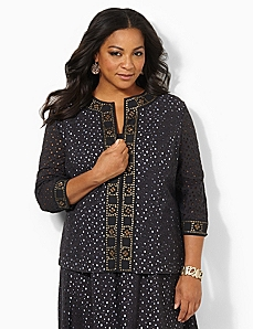 Eyelet Refresh Jacket