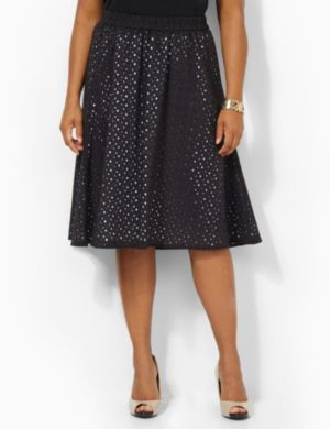 Eyelet Refresh Skirt