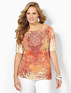 Jungle Daybreak Top