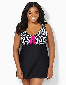 Poolside Charm Swimdress