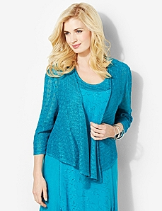 Diamond Crochet Cardigan by CATHERINES