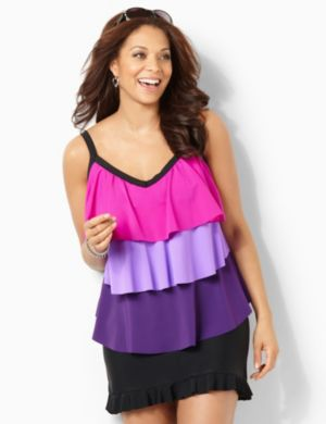 Colorsplash Tiered Swim Tank