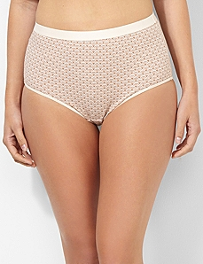 Scalloped Cotton Full Brief