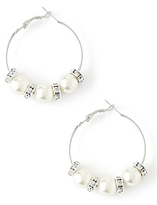 Angelic Hoop Earrings