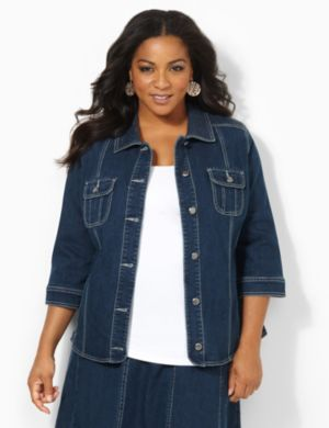 Denim Glow Jacket