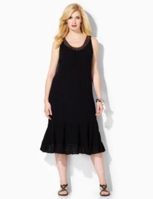 Crochet Contour Dress