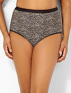 Leopard Cotton Full Brief