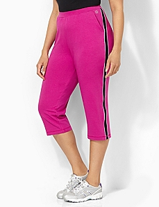 Side Stripe Capri