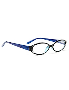 Crystal Ice Reading Glasses