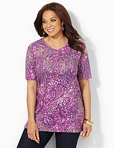 Paisley Palette Easy Fit Tee