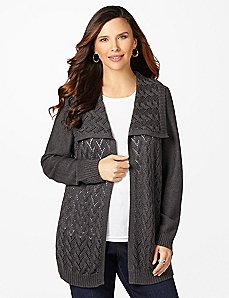 Fallen Snow Cardigan