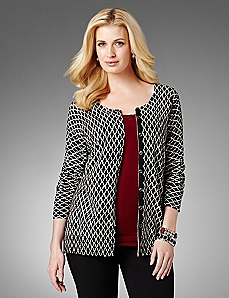 Geo Everyday Cardigan