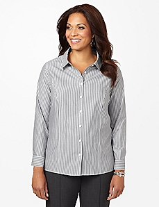 New Slimstripe Non-Iron Shirt