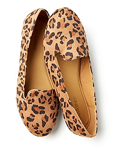 Leopard Sueded Flat