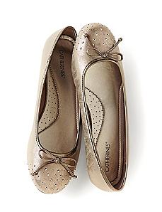 Studded Ballet Flat