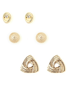 Glamour Earring Set
