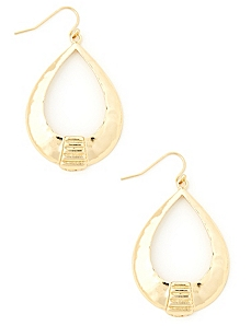 Tribal Teardrop Earrings