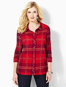 Soft Plaid Shirt